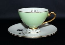 Lovely Petite Pretty Pale Green Tea Cup & Saucer Or Duo By Westminster