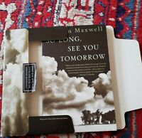 So Long, See You Tomorrow SIGNED  William Maxwell 1st/1st Edition 1996 UNREAD