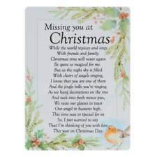 Widdop & Co. Graveside Cards Memorial-Missing You At Christmas TY210