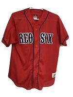 Vintage Boston Red Sox Jersey Red Allison Athletics Men's Medium M MLB