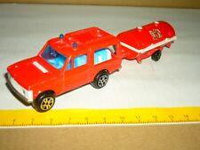 MAJORETTE Range Rover Feuerwehr No. 246, 1-60 + Anhänger 21760