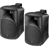 "SMW420B HILL AUDIO 8 Ohm 4"" 2 Way Box Speakers Black"