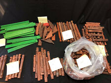 New ListingLincoln Logs Vintage Lot Of 239 Pieces 8.8 Lbs