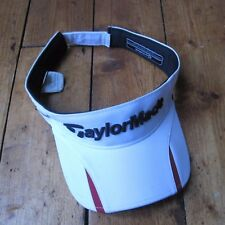 Taylormade Taylor Made R11s RBZ Gold Visor Vizor White One Size Fits All