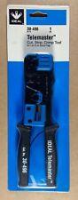 Ideal Telemaster 30 496 Cut Strip Crimp Tool For Rj 11 Rj 45 Plugs