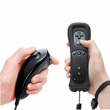 Wireless Remote Wiimote Controller+Wrist+Silicone Case for Nintendo Wii WiiU OL