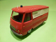 NOREV PEUGEOT J7 - WERBE-MODELL - RED  1:43 - RARE SELTEN - GOOD CONDITION