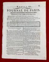 Estados Generales jura 1789 Serfs de La Mont Marquis Villette Journal París