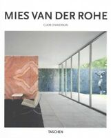 Mies Van Der Rohe : 1886-1969: the Structure of Space, Hardcover by Zimmerman...