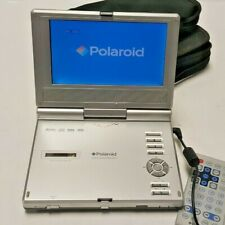 POLAROID CD/DVD PLAYER COMES WITH REMOTE CHARGER CARRYING CASE AND CAR PORT