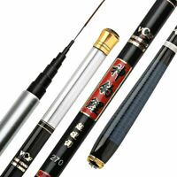 Portable Telescopic Fishing Rod Super Hard Carbon Fiber Hand Pole Spinning Reel