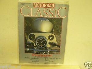MOTORRAD CLASSIC 1988-02 NORTON ,HOREX,GUZZI,BMW,AERMACCHI