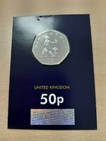 2019 Britannia 50p Fifty Pence Coin Brilliant Uncirculated BUNC BU Sealed New