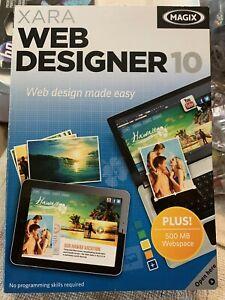 MAGIX XARA Web Designer 10 Software