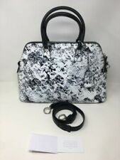MAISON MARGIELA 5AC Painted Faux Leather Tote Bag - White & Black - £2325