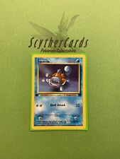 NM Squirtle 1st Edition Team Rocket Pokemon Card + Sleeve, English 68/82