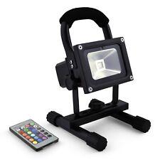 Akku LED Flutlicht Baustrahler 10W / 20W RGB oder Neutralweiss- Epistar IMPLOTEX