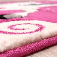 Pink Unicorn Rug Kids Bedroom Carpet Children Playroom Nursery Mat for Baby Girl 80x150cm