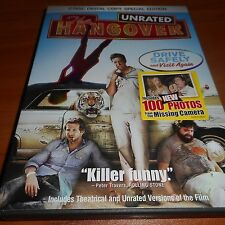 The Hangover (DVD, 2009, 2-Disc  Special Edition Unrated) Used Bradley Cooper