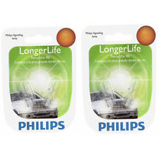 Two Philips Long Life Mini Light Bulb 12961LLB2 for 12961 12961LL W5W 12V 5W ar