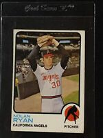 1973 Topps Nolan Ryan Baseball Card #220 California Angels