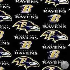 Baltimore Ravens NFL 100% Cotton Fabric 6041 D