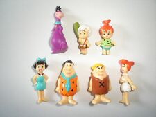 THE FLINTSTONES FIGURINES SET HANNA BARBERA FRIGEO - FIGURES COLLECTIBLES