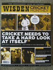 Wisden Cricket Monthly April 2018 Bob Willis Kevin Pietersen Kumar Sangakkara