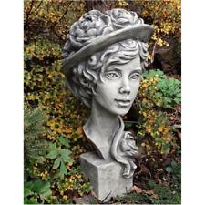 Busto Lady Paeonia FIGURAS Piedra para su jardín o decoración NUEVO 24-50801