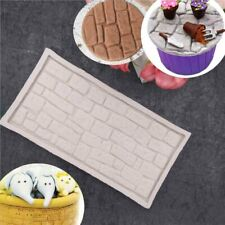Brick Wall Silicone Fondant Mould Cake Decorating Paste Border Chocolate Mold 3D
