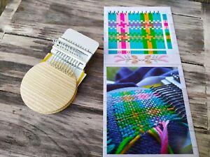 Small loom, (Has 10 hooks)Speedweve type, Darning loom