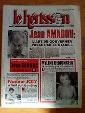 LE HERISSON n°1886 - 1982 HUMOUR - Mylène Demongeot - Nadine Joly