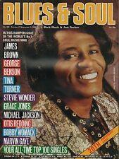 James Brown Blues & Soul 1986   Diana Ross Michael Jackson Otis Redding Al Green