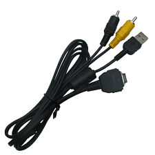 Genuine Sony VMC-MD1 USB AV Cable for DSC-H10 DSC-H3 DSC-H7 DSC-P150 DSC-P200