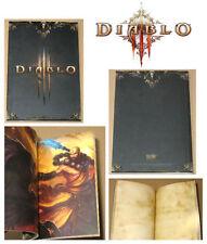 Diablo 3 III - PROMO - Libro de Notas - PC Xbox 360 PS3 Ps4 - Oficial - RARO!!
