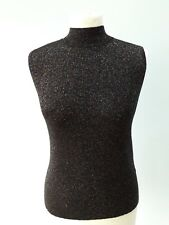 ce0f4a2476c5 Oasis Size M 10 12 14 Sleeveless Sparkly Disco Jumper Top BNWT £32 Party  Xmas