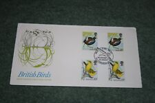 Post Office First Day Cover - 'British Birds' 1980. Peterborough Cancellation