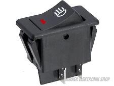 Universal Auto  LED Nebel  Licht Wippenschalter Dash Dashboard 12V 35A - 4Pin