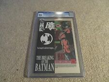 Batman #497 Bane Breaks Batman's Back Cgc Ng Manufacturing Error 1993 Dc