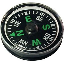 MINI BUTTON COMPASS - Pocket Size 20mm - Navigation/Direction - Camping, Hiking
