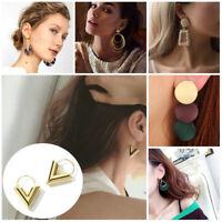 Fashion Women Alloy Boho Statement Geometric Big Drop Dangle Earrings Xmas Gift