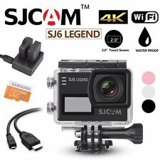 SJCAM SJ6 SJ6000 LEGEND 4K 2″ LCD Touch Screen Waterproof Action Camera Kit