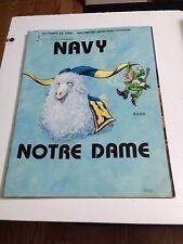 1988 Navy Vs Notre Dame Program