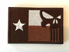 NAVY SEAL TEAM 3 TEXAS FLAG American Punisher Skull Sniper DEVGRU Patch USN ST3