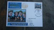 2004 SWIM TEAM AUSTRALIAN OLYMPIC GOLD MEDAL WIN STAMP ALPHA FDC