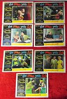 "7 Lobby Cards / Aushangfotos ""Seven Year Itch"" (1955) Mariyln Monroe Tom Ewell"