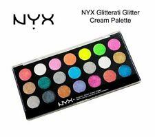 NYX Glitterati Glitter Cream Palette 21 Colors Glitterama Multipurpose Gel Based