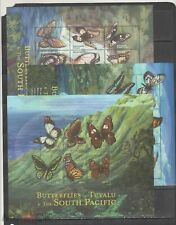 Tuvalu 2000 butterflies insects 3klb MNH
