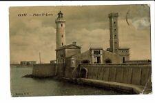 CPA-Carte postale- FRANCE - Sete (Cette)-Phare Saint Louis  S3762