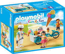 "PLAYMOBIL® family fun  9426   "" Fahrrad mit Eiswagen "", NEU & OVP"